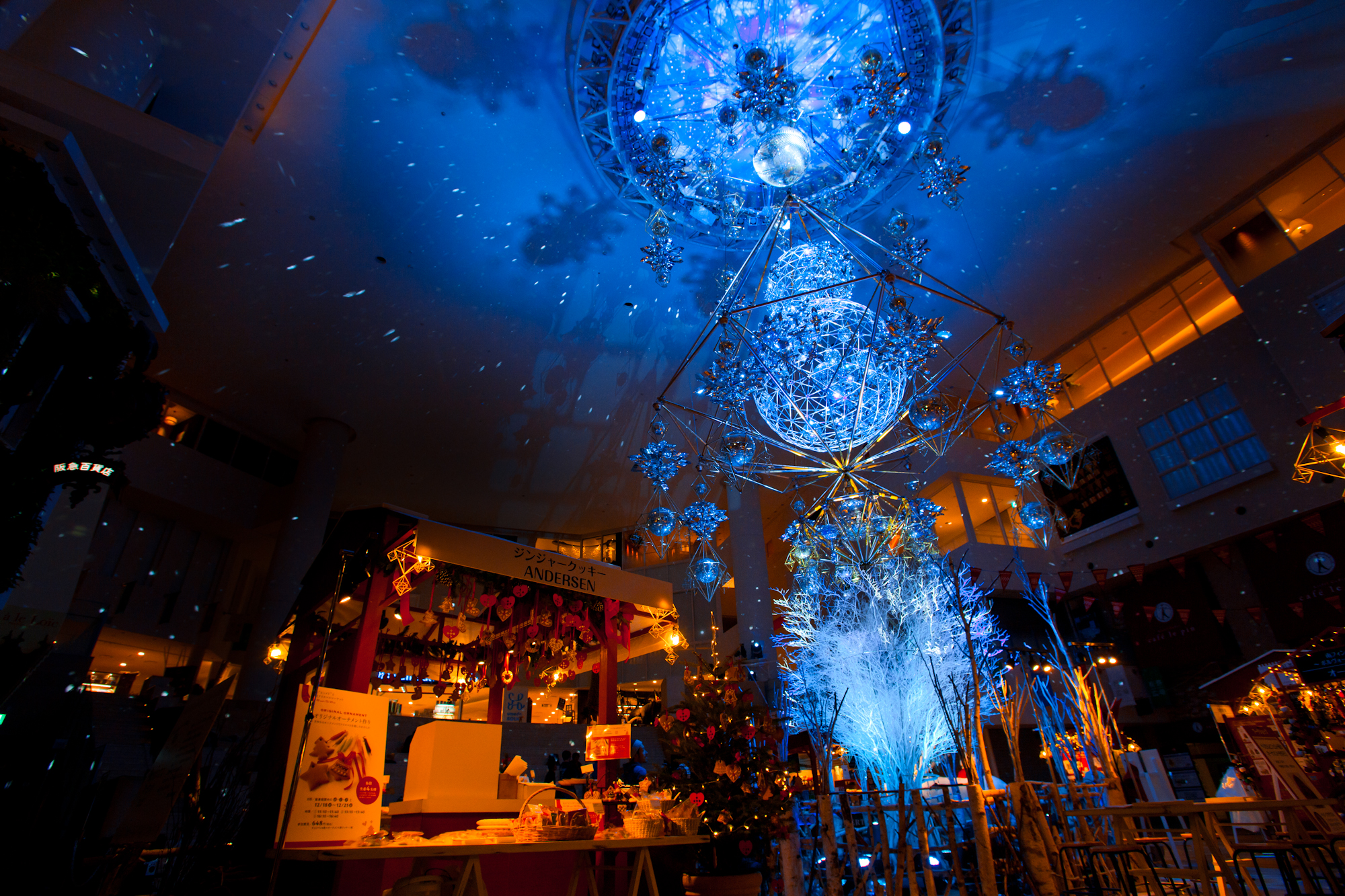 阪急うめだ本店クリスマスデコレーション2015|NENOUWASA/ねのうわさ