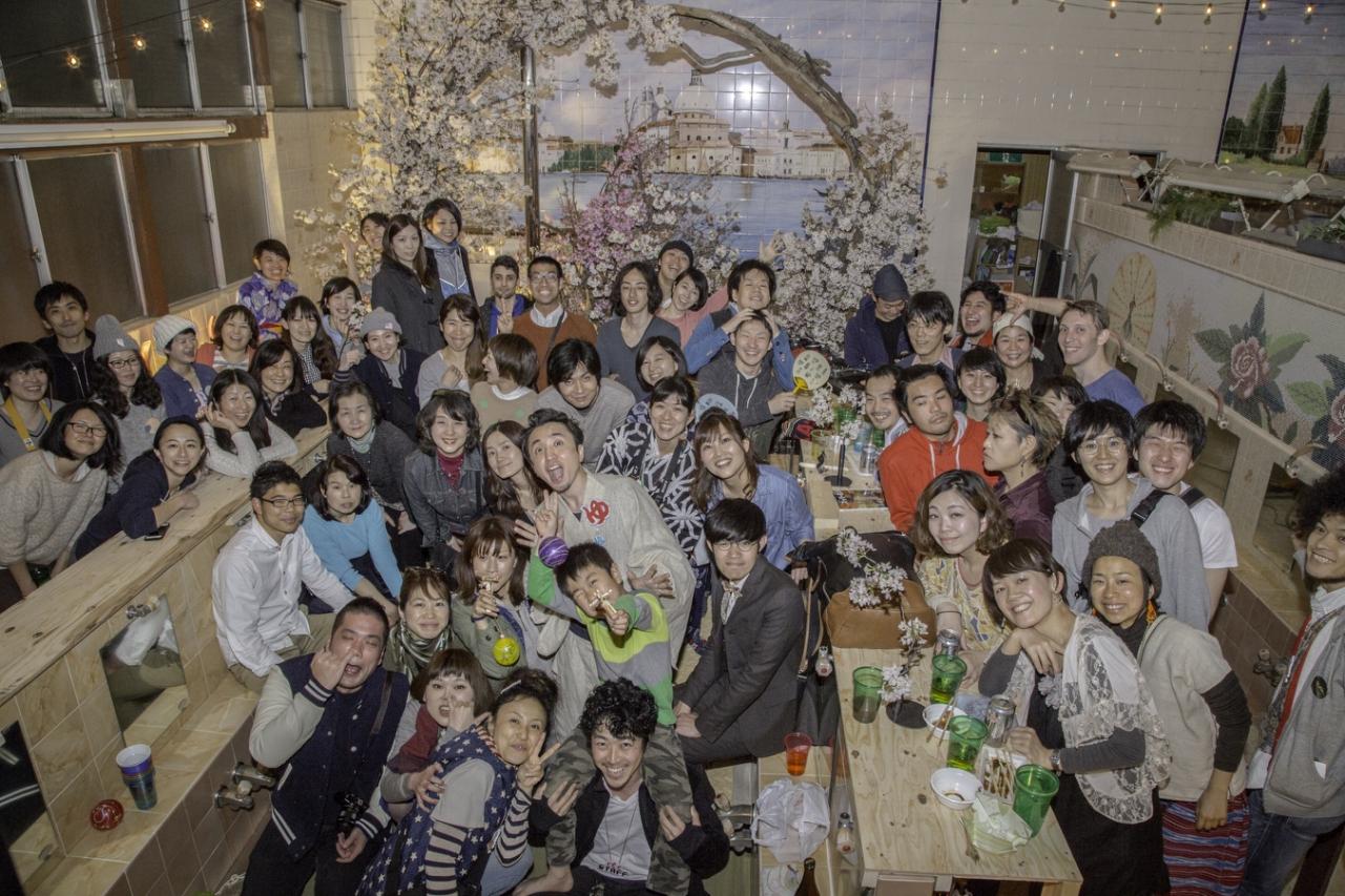 銭湯花見2016 NENOUWASA/ねのうわさ
