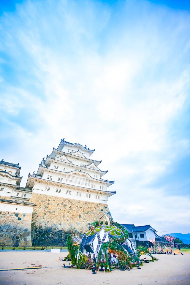 姫路城×彩時記 冬-color of the season-|NENOUWASA/ねのうわさ