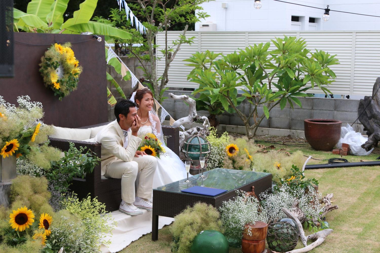 小笠原ガーデンウェディング|NENOUWASA/ねのうわさ